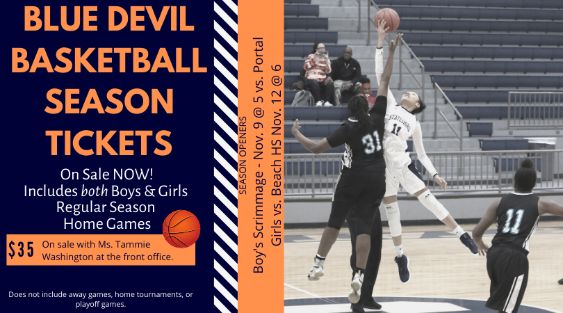 Basketball Season Tickets on Sale NOW