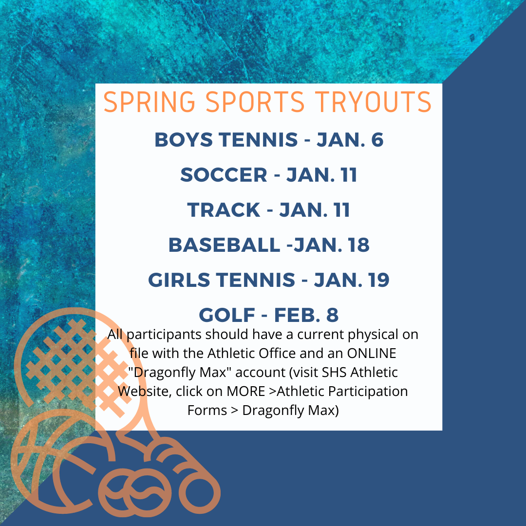 Spring Sports Tryouts