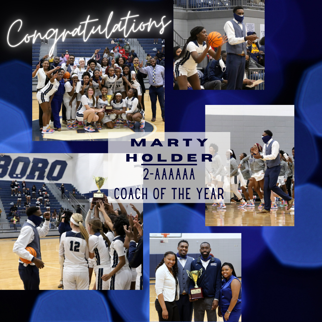 Holder Named Coach of the Year