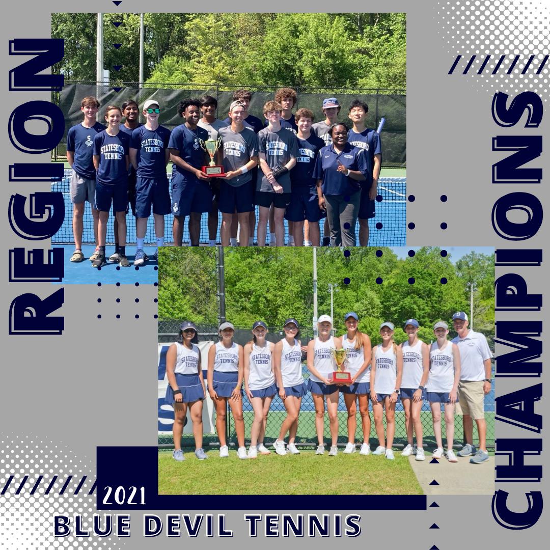 Boys & Girls Tennis – REGION CHAMPIONS