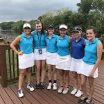 Marian Girls Golf Falls to Concord 185-198