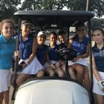 Marian Varsity Girls Golf falls to Northridge 167-178