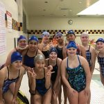 Girls Varsity Swimming falls to South Bend Riley 131 – 42