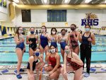 Girls Varsity Swimming falls to South Bend Riley 127 – 41