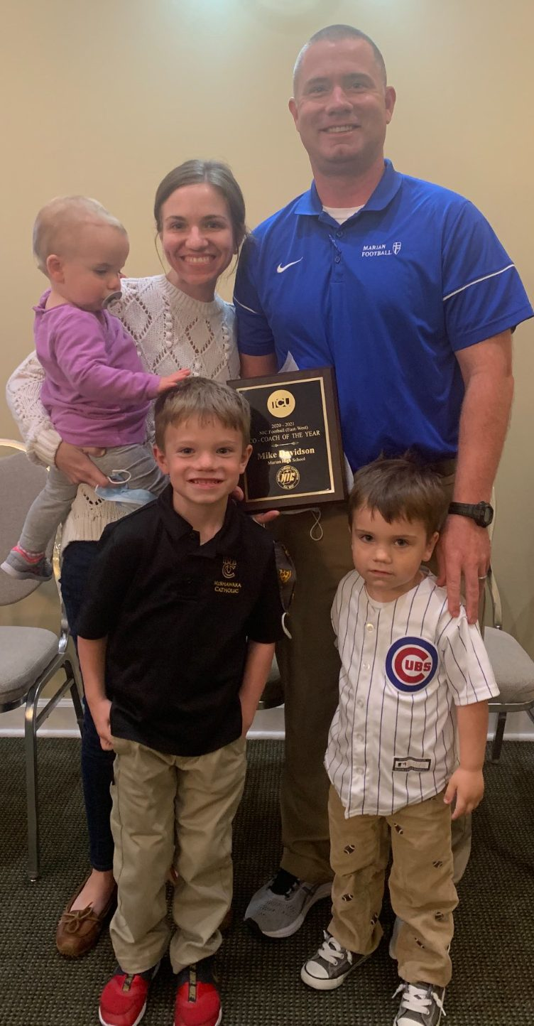 Mike Davidson '02 named Co-NIC E/W Coach of the Year