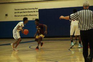 JV Boys Basketball VS Point Loma