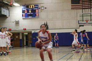JV GIRLS Basketball vs Clairemont