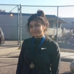 Jennifer Urena takes 1st place at Eastlake Wrestling Tournament