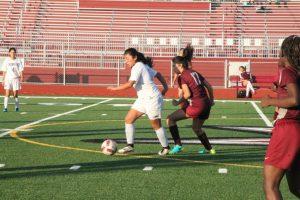 Varsity Girls Soccer VS Kearny High