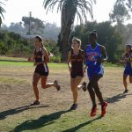 Monae Jones wins her first race-Boys win their 3 league meets