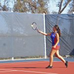 Varsity Girls Tennis Victory Against Gompers
