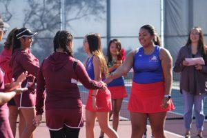 Girls Tennis Senior Night