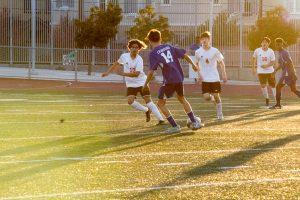 JV Boys Soccer VS. Hoover