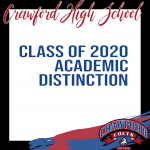 Celebrating Class of 2020 -Academic Distinction-Who is graduating in White???