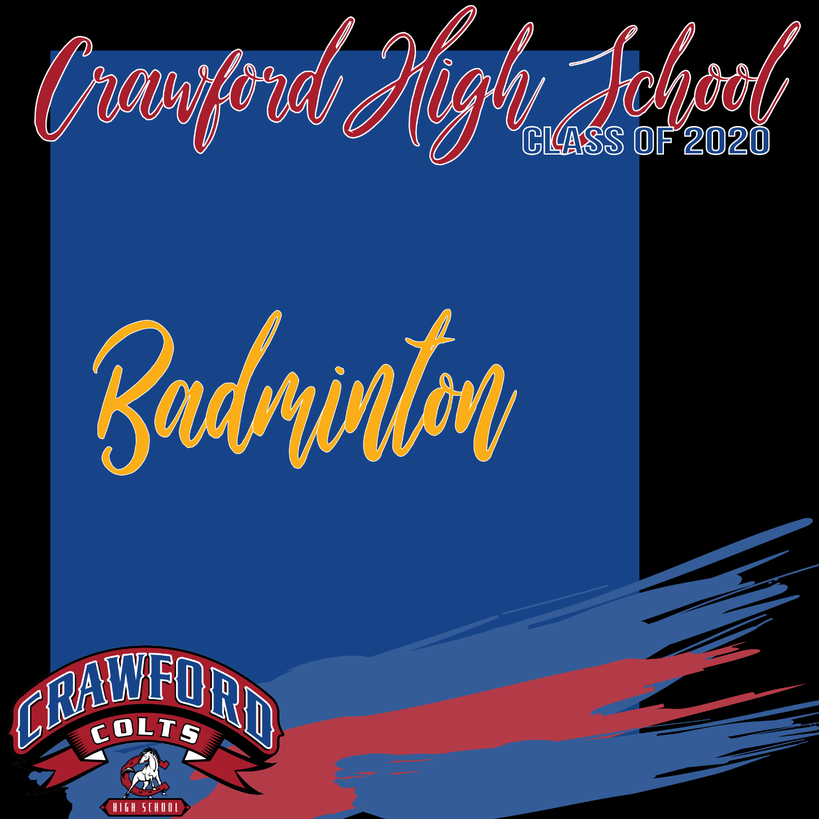 Celebrating Class of 2020-Badminton