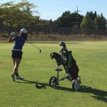 DHS Girls Varsity Golf wins by forfeit vs. Livermore