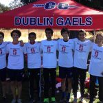 Dublin High School Coed Varsity Cross Country finishes 1st place