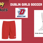 Lady Gaels Soccer online store – shorts, socks