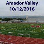 Amador Valley - 10/12/2018