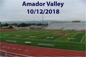 Amador Valley – 10/12/2018