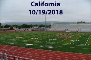 California – 10/19/2018