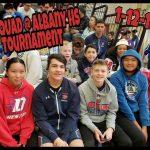 DHS JV Wrestling Albany Tournament