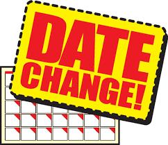 Date change for next week's JV & Varsity Football Games