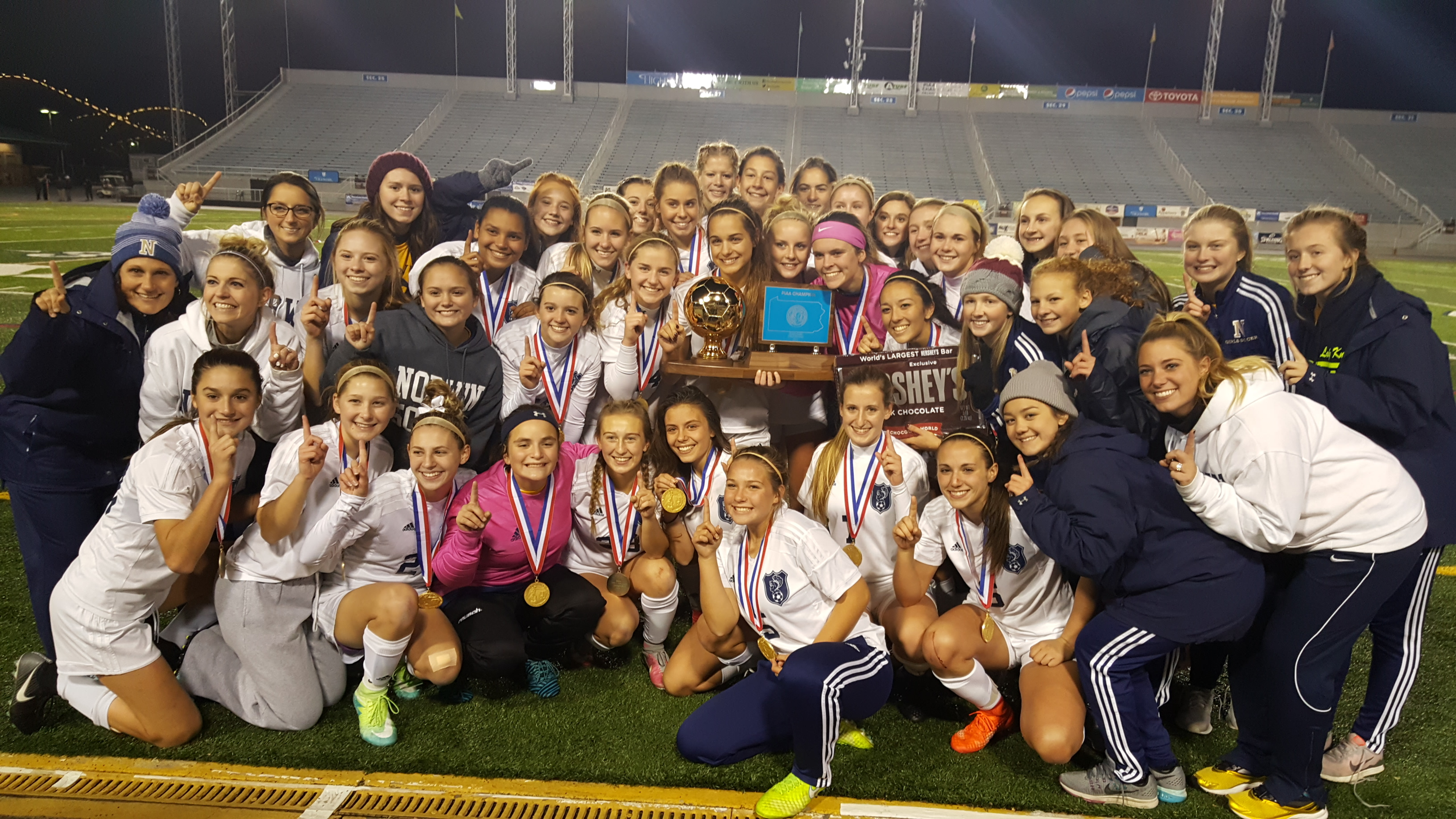 Lady Knights Soccer WINS PIAA CHAMPIONSHIP