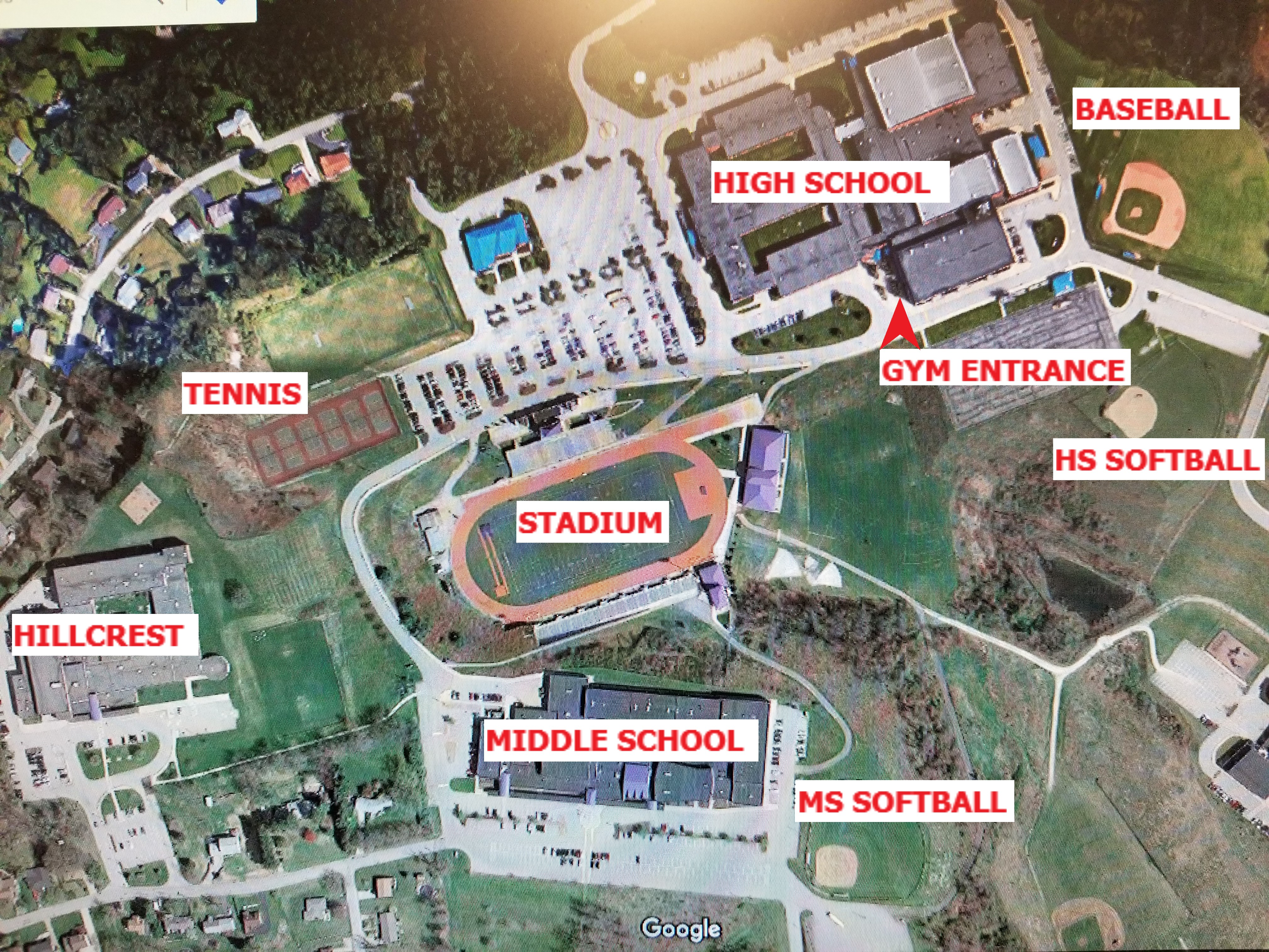 Mercyhurst University Campus Map.Norwin Team Home Norwin Knights Sports