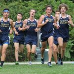 Boys Varsity Cross Country team sweeps Yough and Franklin Regional.