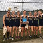 Girls Varsity Cross Country Captures Crown with 1st place finish at Westmoreland County Coaches Championship