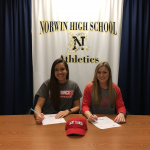 Horvath and Langsdorf Commit to Saint Francis Volleyball