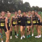 Girls Varsity Cross Country finishes 15th place at Invitational @ Schenley Park