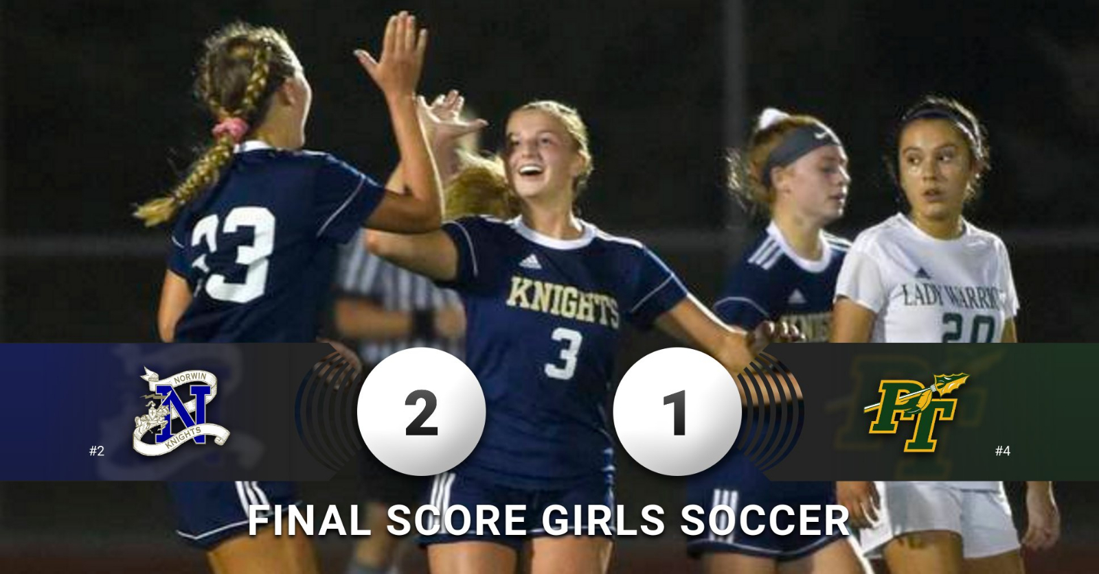 Girls Soccer's Big win over PT Featured in the Trib HSSN!