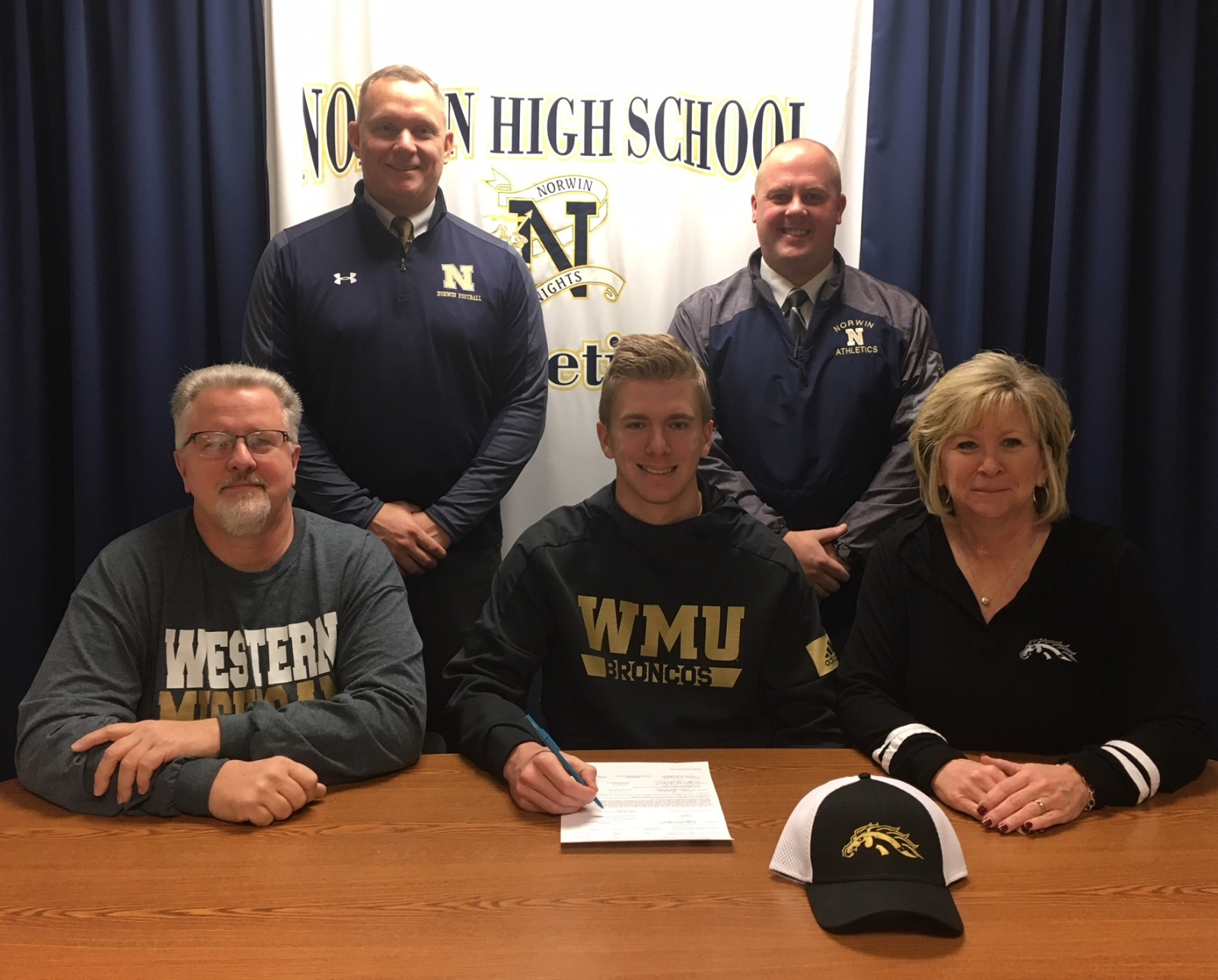 Salopek Makes it Official – Western Michigan it is!