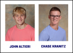 John Altieri and Chase Kranitz to Compete in PIAA Wrestling Championships Saturday, March 13 at Hershey Arena