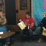 Varsity Hockey Visits Elementary Schools