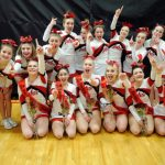 Competitive Cheer Earns First Place Honors!