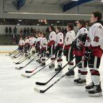 Hockey Wins Home Opener