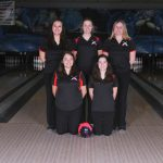 Girls Bowling On A Roll