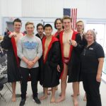 Pirate Swimmers Bring Home Hardware