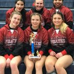 Competitive Cheer Takes Second Place