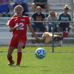 Girls Junior Varsity Soccer beats Adrian 8 – 0