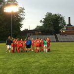 Girls Varsity Soccer beats Milford 3 – 2