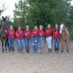 Pirate Equestrian Team in Mid-Season Stride