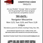 Competitive Cheer Try-Outs