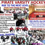 Hockey Try-Outs Start October 29th!