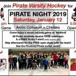Varsity Hockey Pirate Night