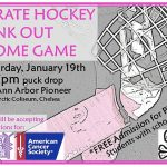 Pirate Hockey Pink Out Game