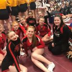 Cheer Hits Goals during Districts